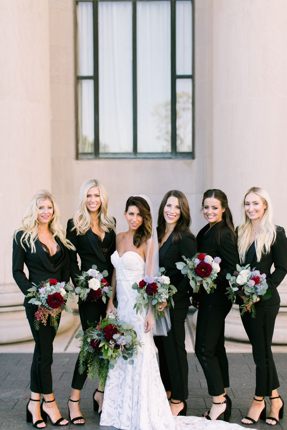 14 Photos Of Bridesmaids Rocking Pants And Looking Chic As Hell