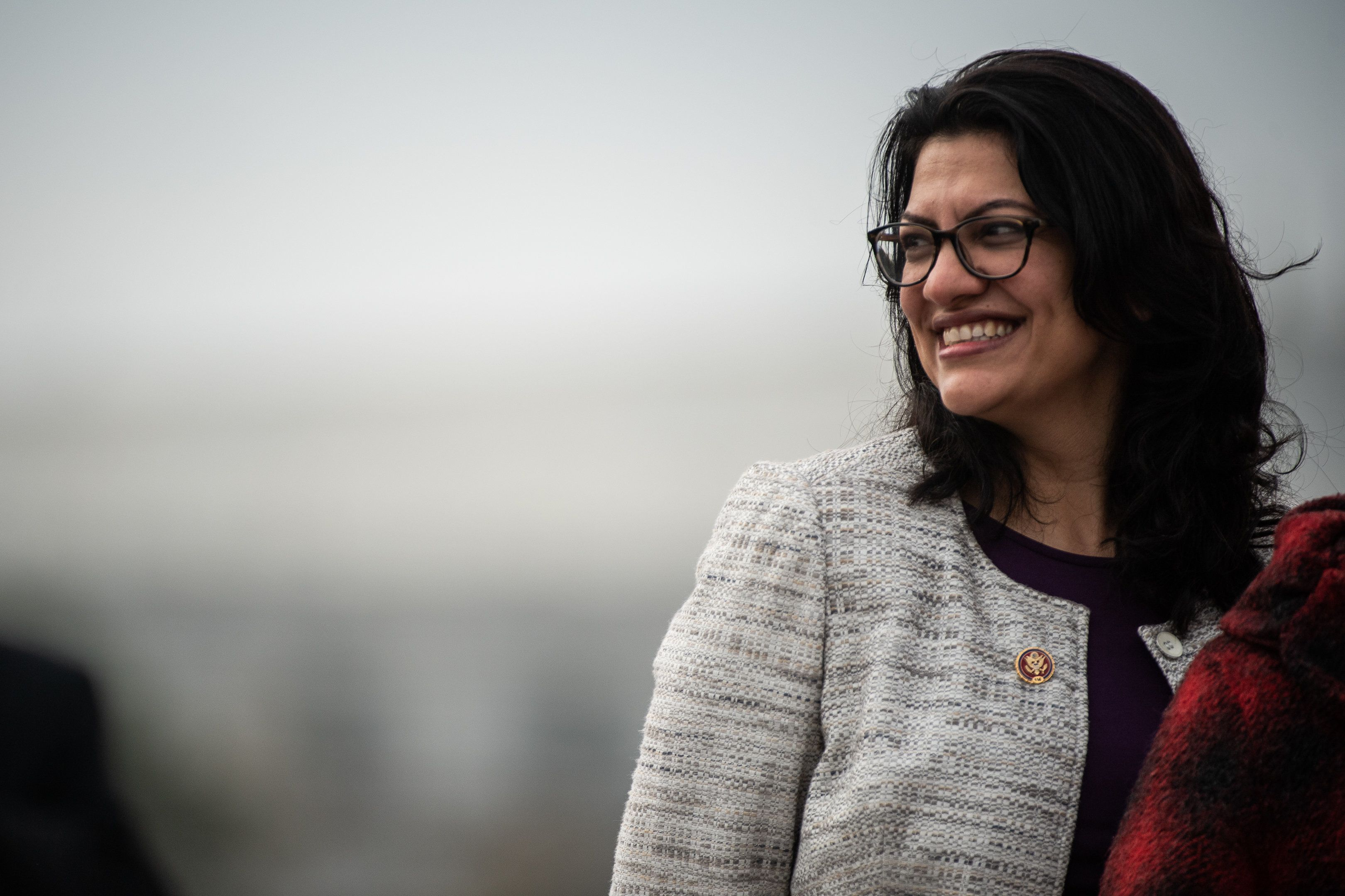 Rep. Rashida Tlaib is already being unfairly scrutinized for her open support of Palestinian rights and the Boycott, Div