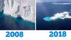 """""""10 Years Challenge"""" : Les défenseurs de l'environnement détournent le"""