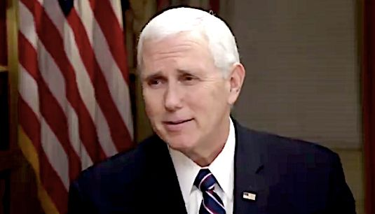 Vice President Says Outrage Over Wife Karen Pence's Discriminatory School Is 'Offensive'