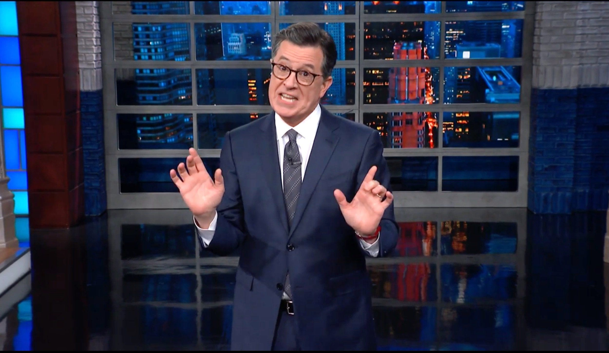 Colbert Calls Out Trump Over Nancy Pelosi Trip: 'I've Told The Taliban You're Coming!'