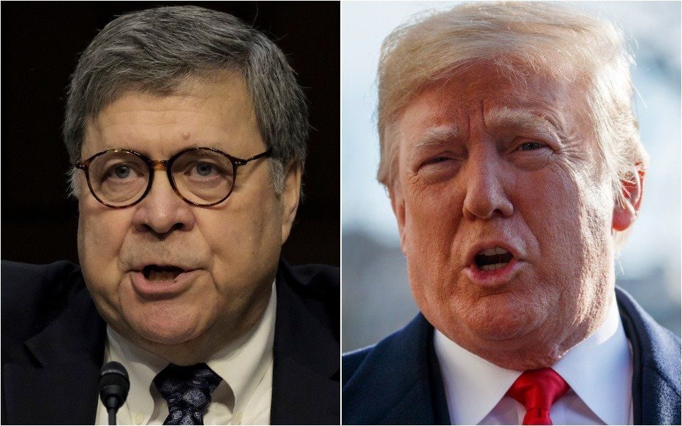 William Barr, Donald Trump