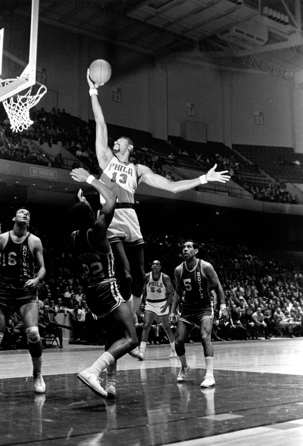 Basketball as we know it was molded by Wilt Chamberlain's dominance on the court.