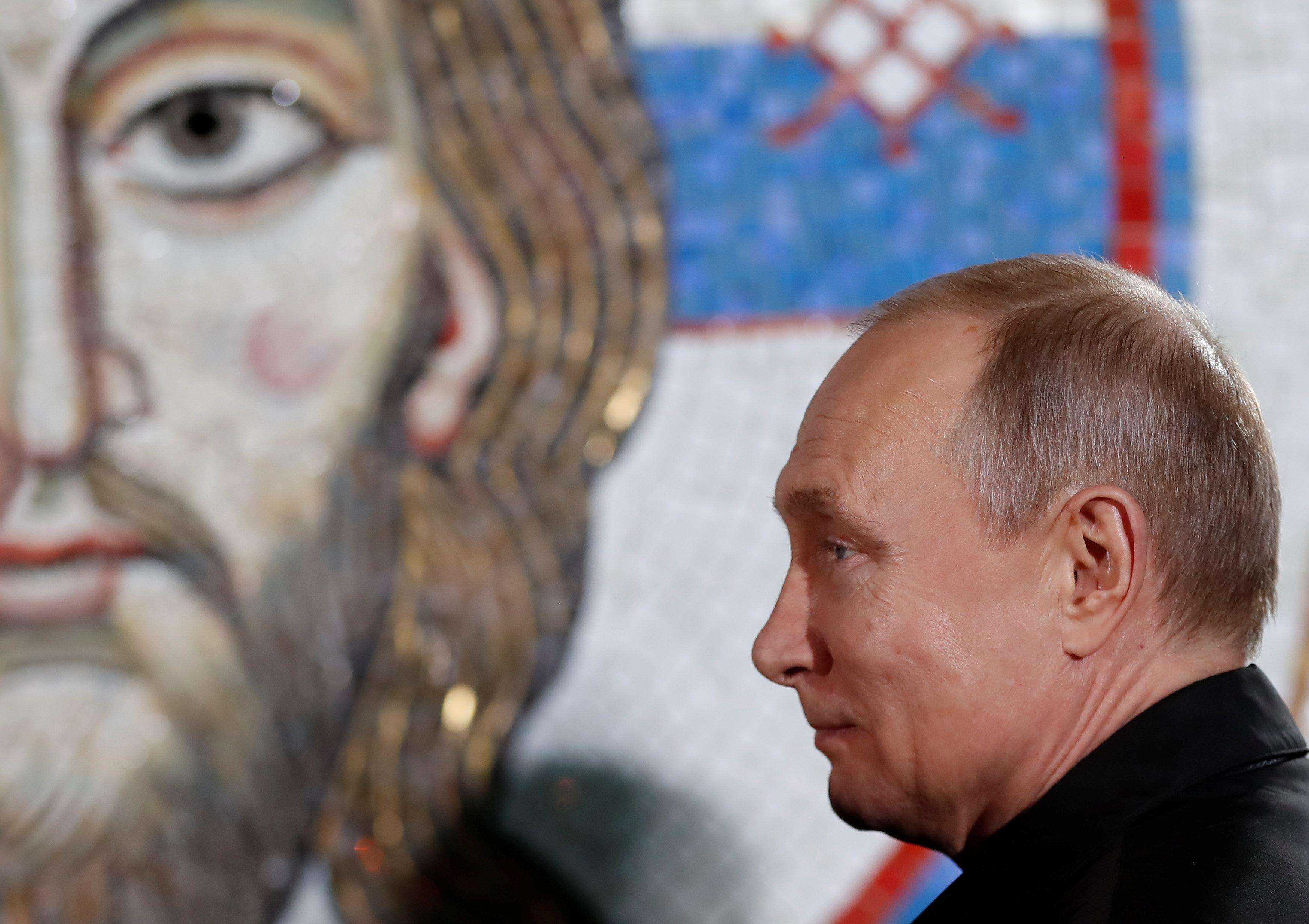 Δωρέα 5 εκατ. από τον Πούτιν σε ορθόδοξο ναό της Σερβίας