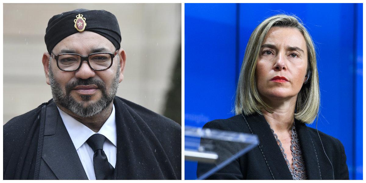 Partenariat Maroc-UE: Le roi Mohammed VI reçoit Federica