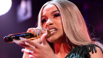 NEW YORK, NY - DECEMBER 07:  Cardi B performs at Z100's Jingle Ball 2018 at Madison Square Garden on December 7, 2018 in New York City.  (Photo by Kevin Mazur/Getty Images for iHeartMedia)