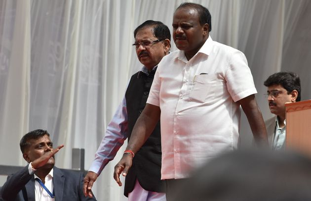 Chief Minister of Karnataka, HD Kumarswamy and Deputy Chief Minister