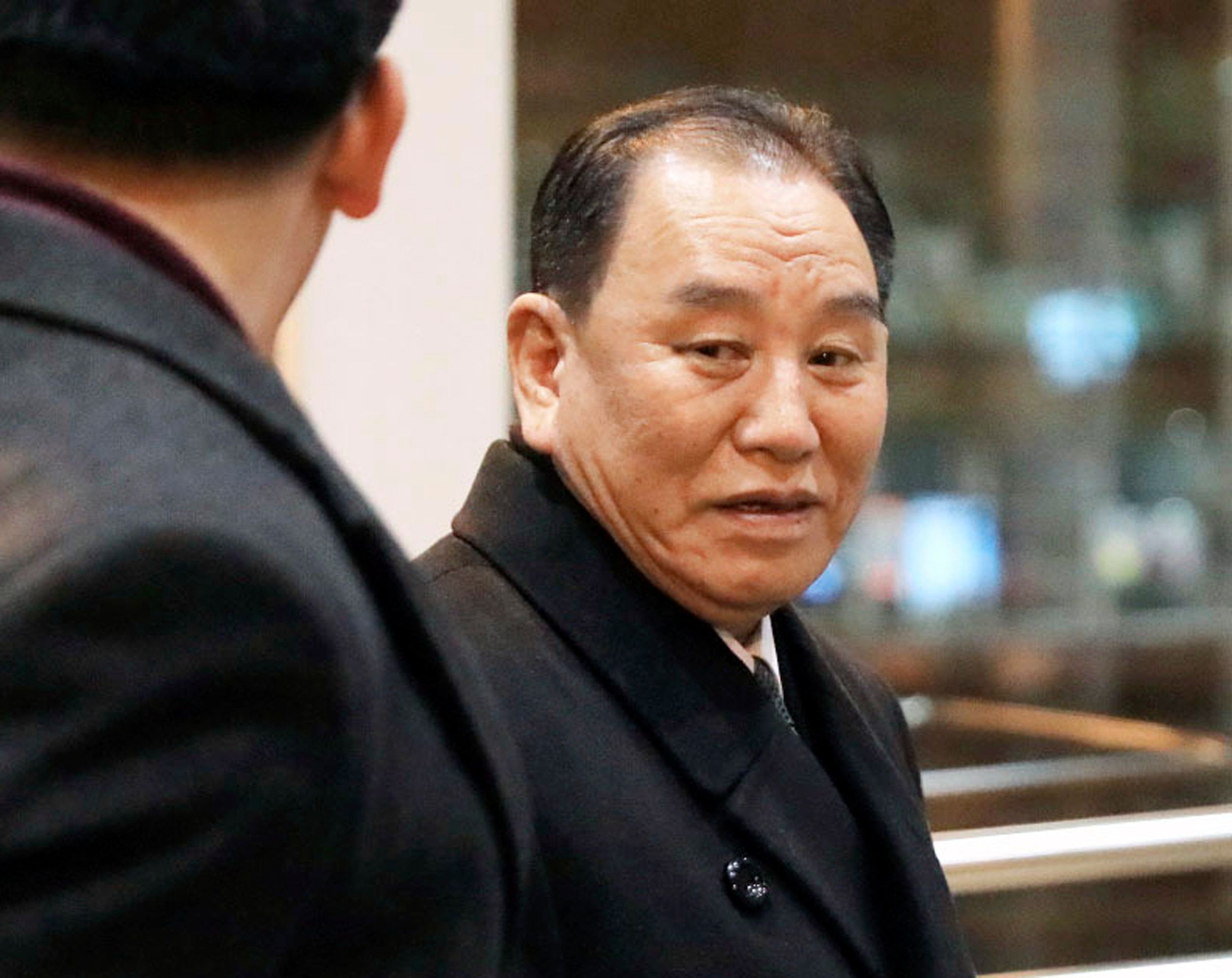 North Korean official heads for talks in Sweden
