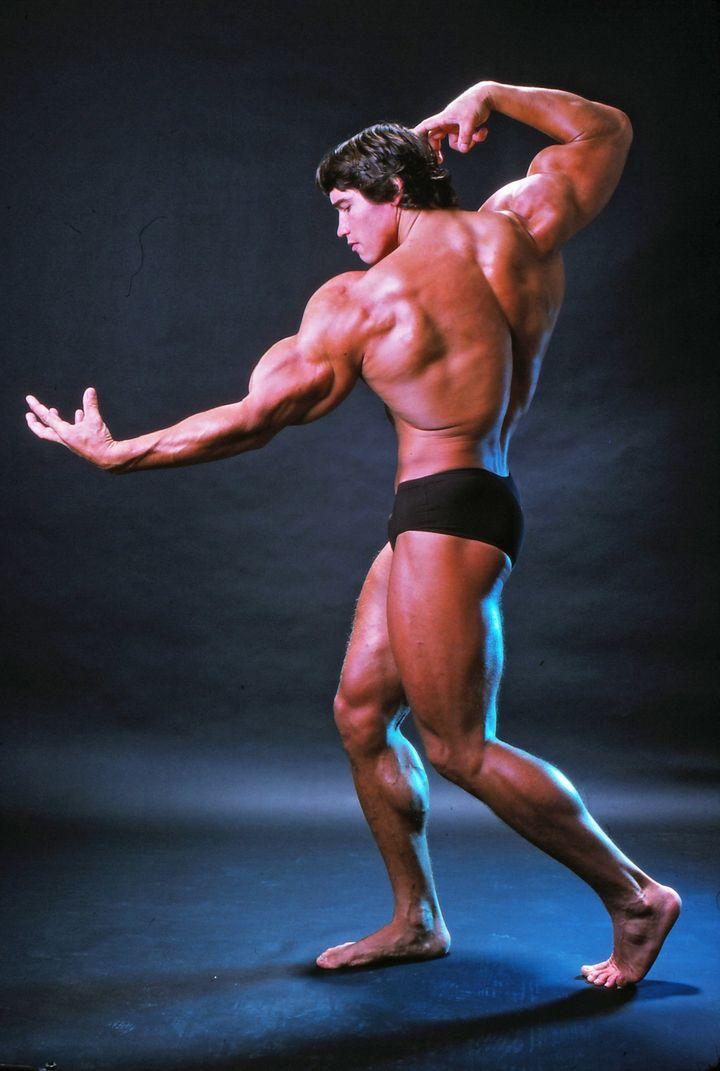 Arnold Schwarzenegger's Bodybuilding Son Recreates Dad's Classic