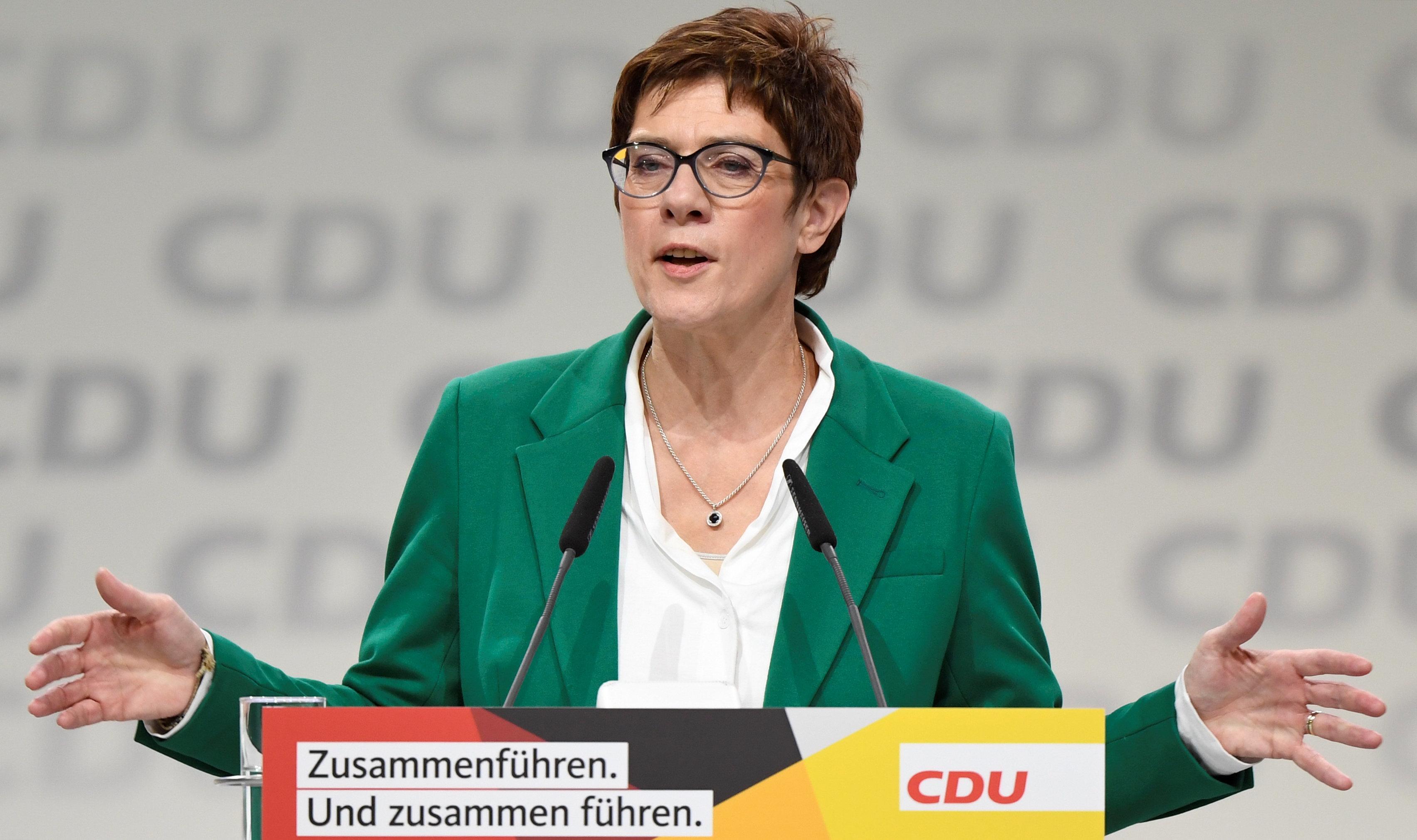 Angela Merkel's Successor Leads German Plea For 'British Friends' To Remain In The