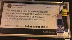 People Behind Billboards Trolling MPs Raise £10,000 In Under 4