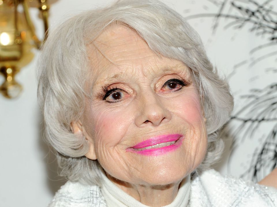 """Actress Carol Channing, whose incandescent performances as the gold-digging Lorelei Lee in """"Gentlemen Prefer Blondes&rd"""