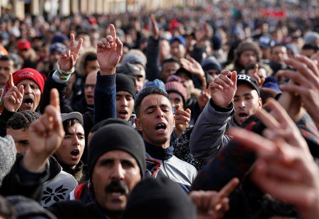 Jerada: 18 manifestants condamnés à des peines de prison allant de 2 à 4
