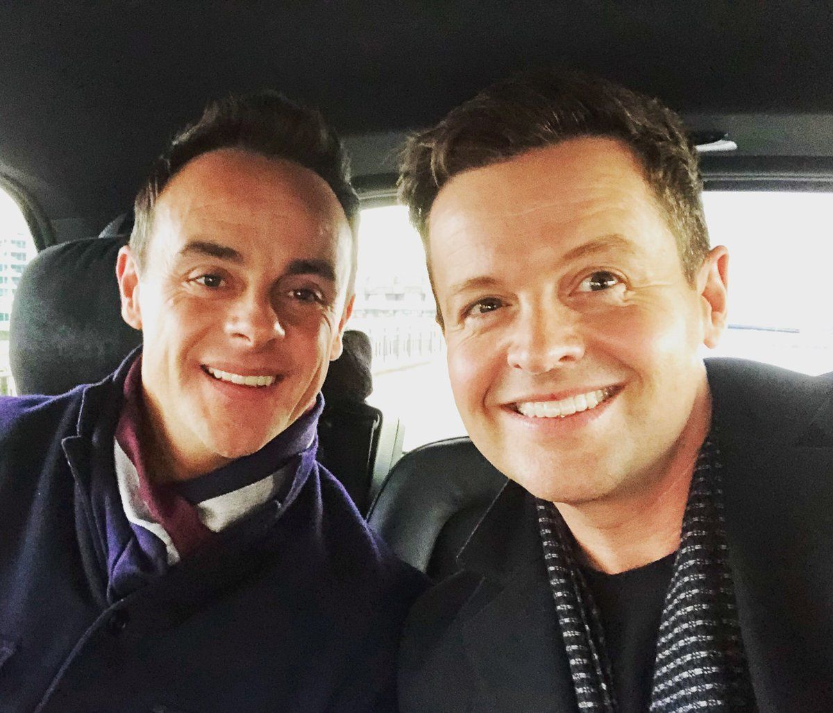 REUNITED: Ant And Dec Are Reunited At 'Britain's Got Talent' Auditions As Ant Returns To