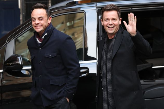 The pair were all smiles as they arrived at the London