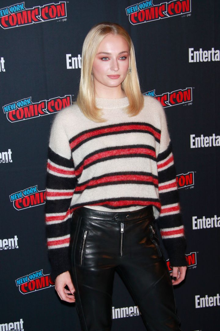 Sophie Turner at New York Comic Con 2018 in New York City on Oct. 6, 2018.