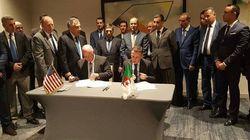 Algérie-EtatsUnis: signature de quatre mémorandums d'entente pour un partenariat