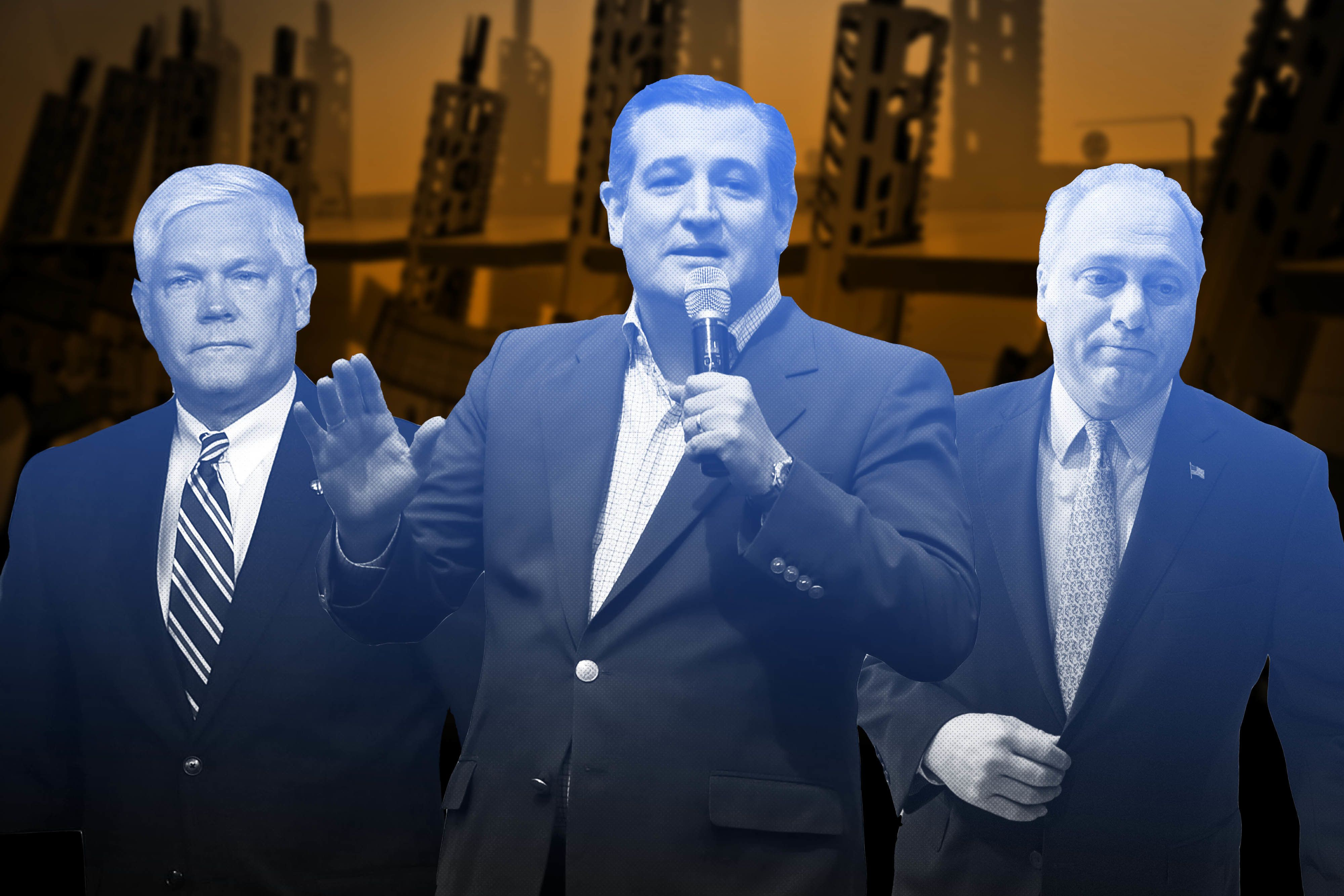 Doctors' groups continued to fund pro-NRA politicians like Pete Sessions, Ted Cruz and Steve Scalise, even as the organizatio