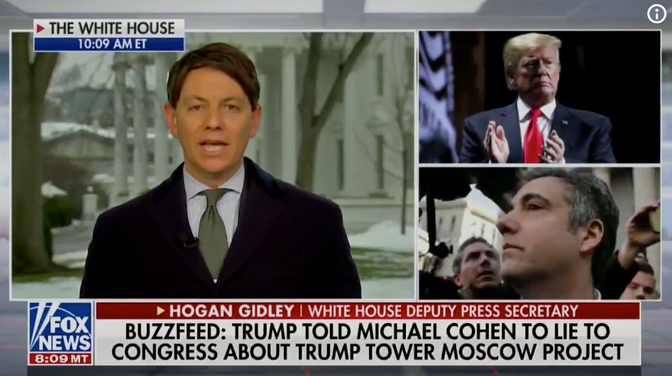 White House Spokesman Refuses To Deny That Trump Directed Michael Cohen To Lie