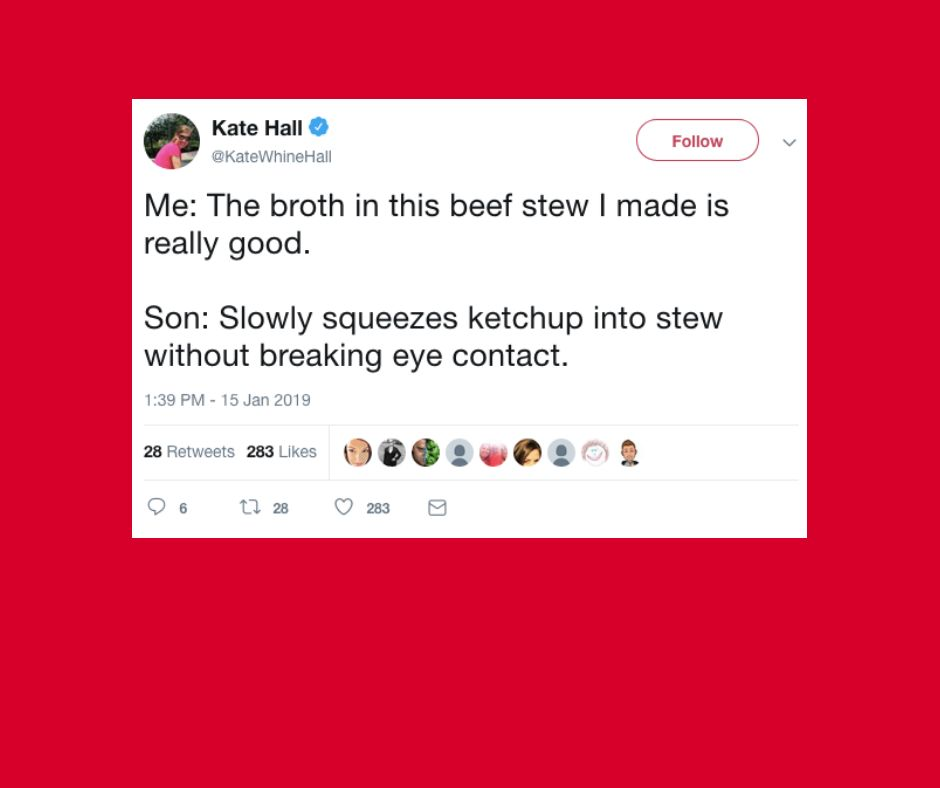 The funniest parenting tweets this week.
