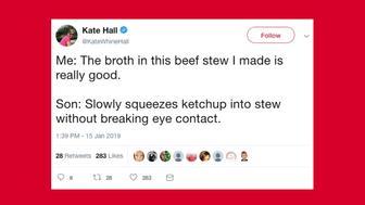 The funniest parenting tweets this week.