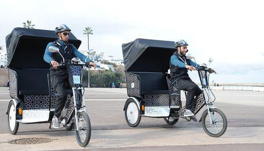 Les vélos-taxis font leur apparition à