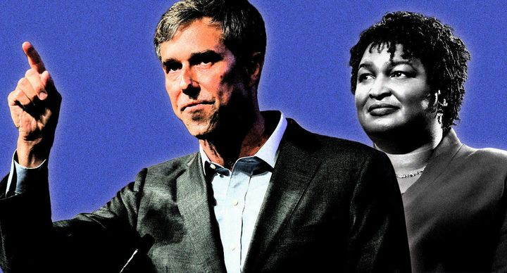 Beto O'Rourke and Stacey Abrams.