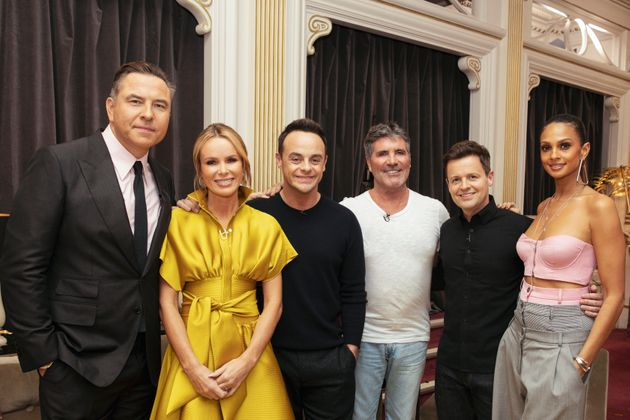 The whole 'BGT' gang was reunited on