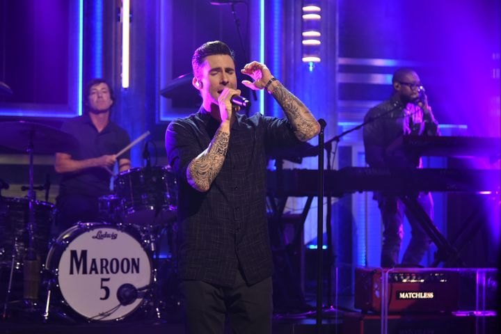 Maroon 5 frontman Adam Levine has not publicly addressed the controversy around the band performing at the Super Bowl.