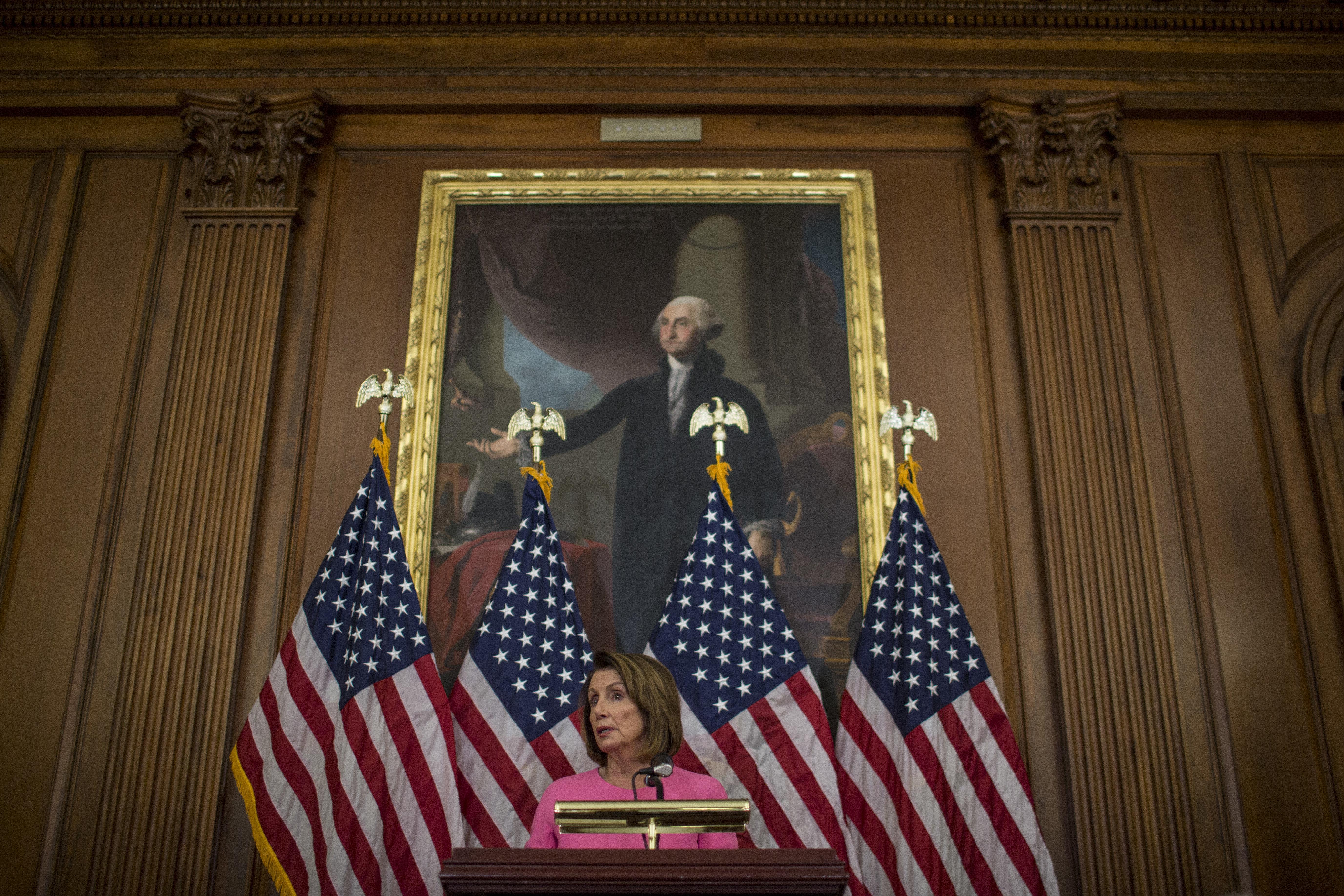 Westlake Legal Group 5c422b50200000d4006bbae5 Nancy Pelosi Cancels Overseas Trip After Accusing Trump Of Leaking Travel Plans