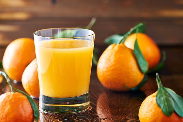 Os melhores sucos de frutas, classificados segundo seu valor