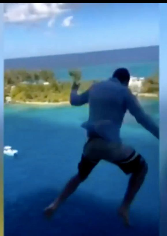 Passenger Who Jumped 11 Stories Off Cruise Ship Hopes He Doesn't Inspire