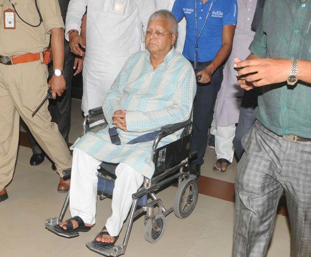Lalu Prasad Yadav in a file