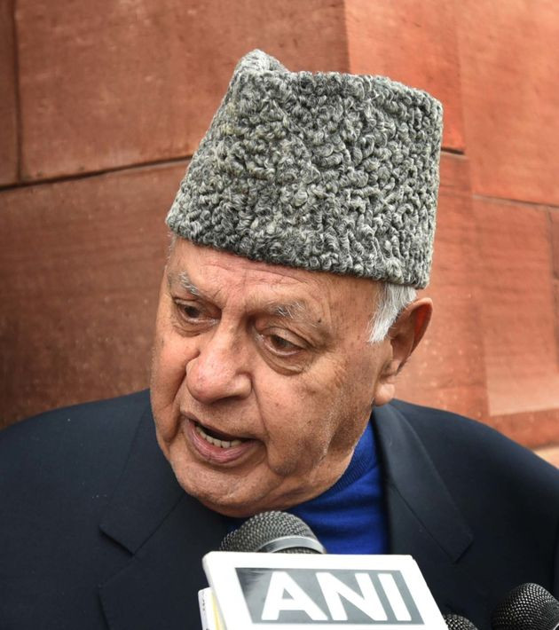 National Conference leader Farooq Abdullah in a file