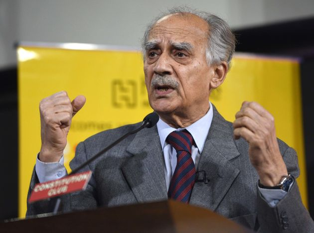 Arun Shourie in a file