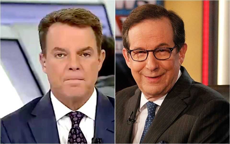 Shep Smith and Chris Wallace