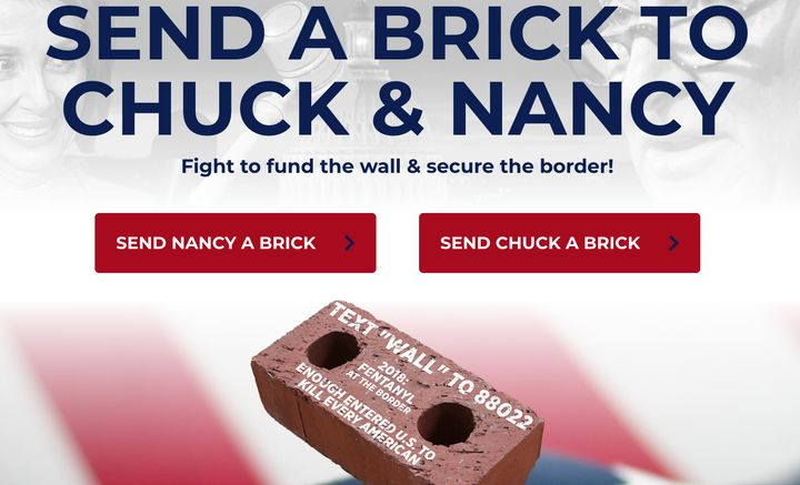 Image result for send a brick to chuck and nancy