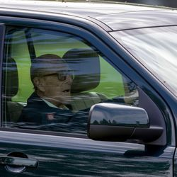 Police 'Talk To' Prince Philip About Not Wearing a