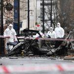 Explosion in Nordirland: Polizei ermittelt wegen möglicher Autobombe