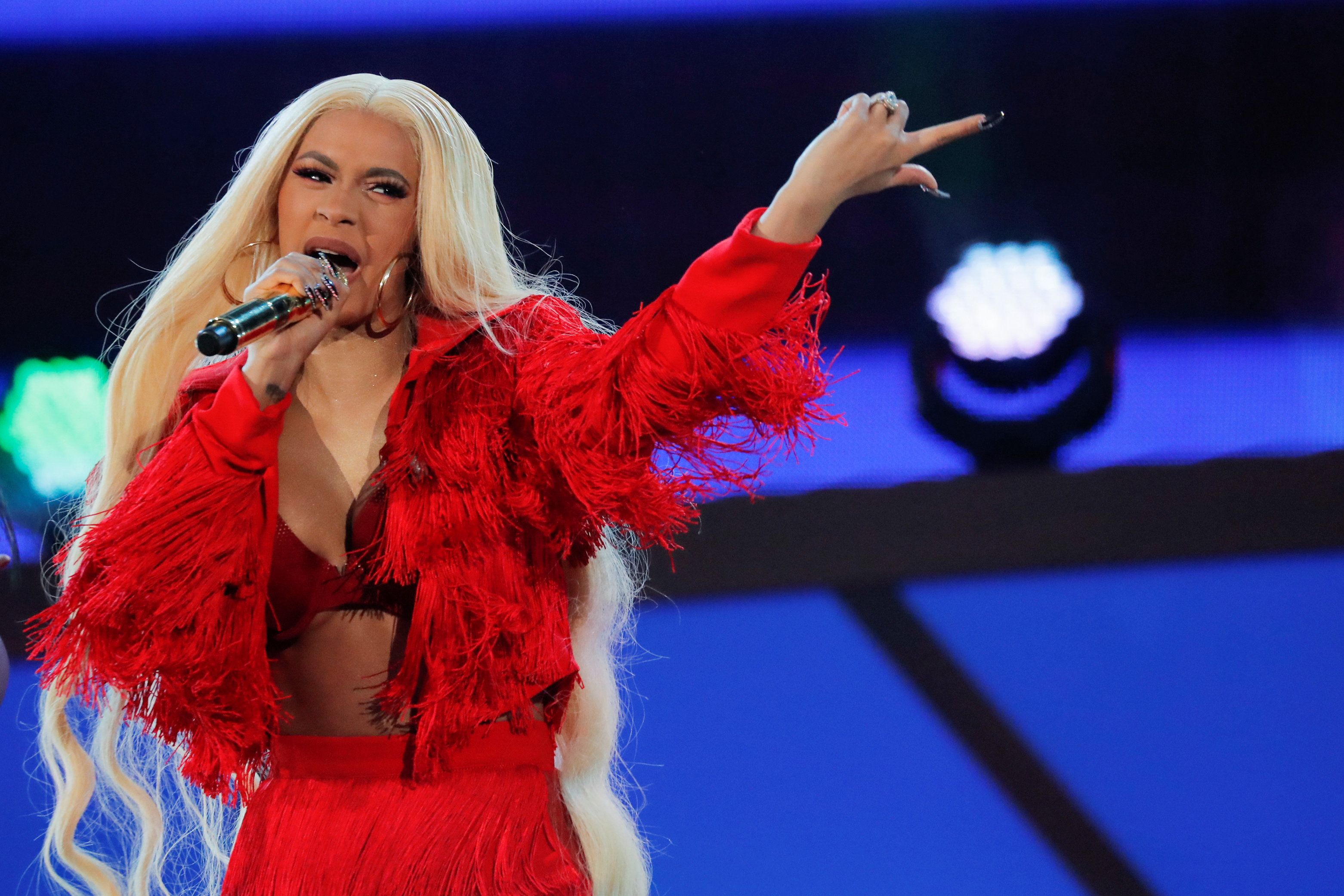Cardi B performs at the Global Citizen Festival concert in Central Park in New York City, New York, U.S., September 29, 2018. REUTERS/Caitlin Ochs