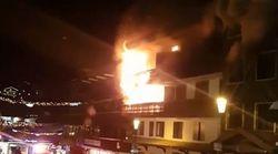 Δύο νεκροί από πυρκαγιά στις Γαλλικές