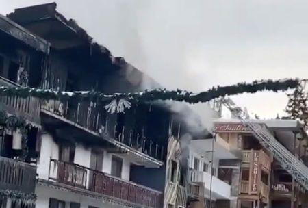 Two Dead In Huge Blaze At French Ski