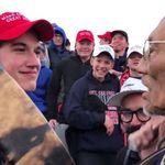Des jeunes pro-Trump se moquent d'un vétéran amérindien et suscitent
