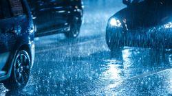 Fortes averses de pluie sur le Centre et l'Ouest du pays du dimanche au