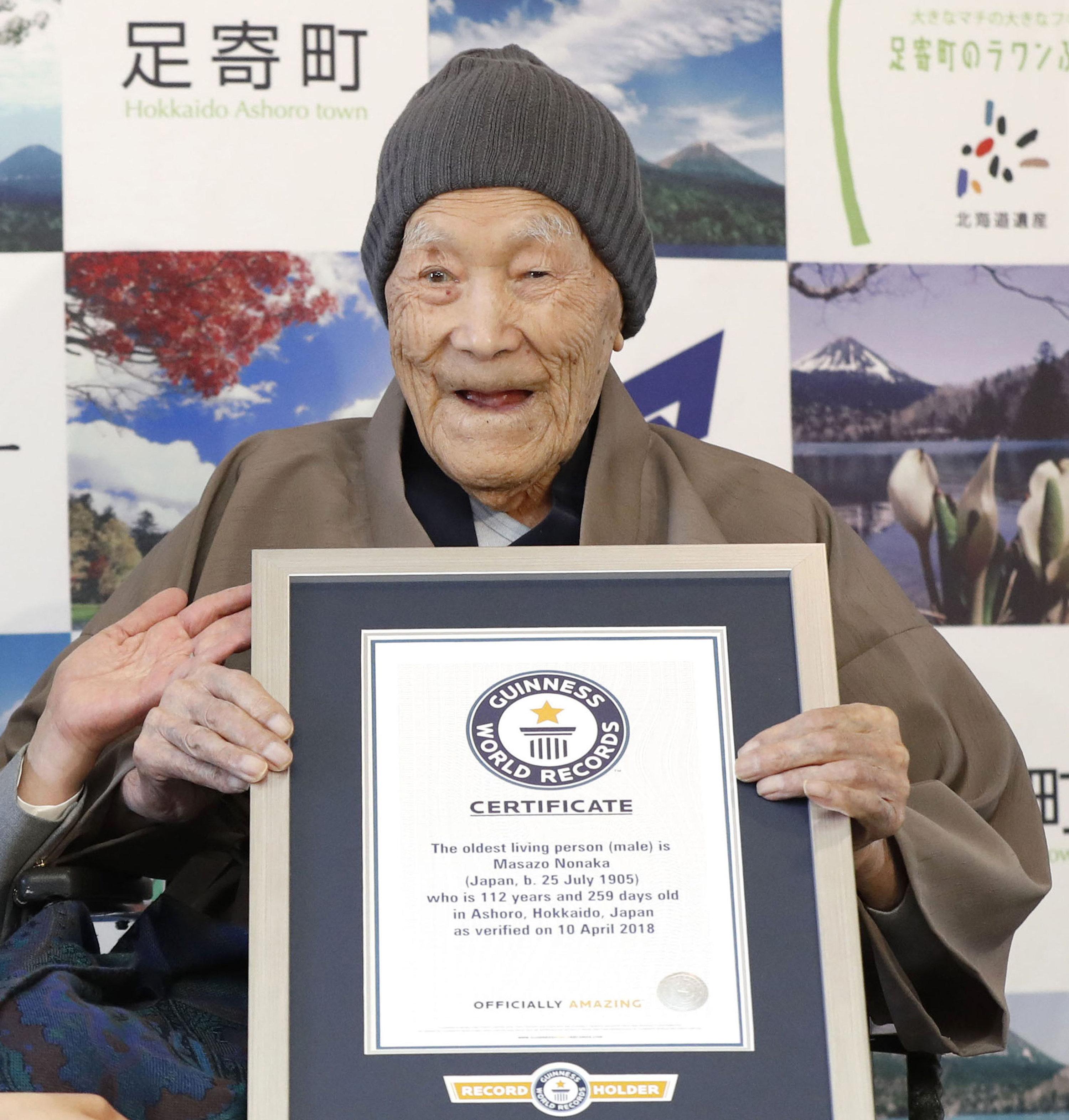 Πέθανε σε ηλικία 113 ετών ο γηραιότερος άνδρας στον