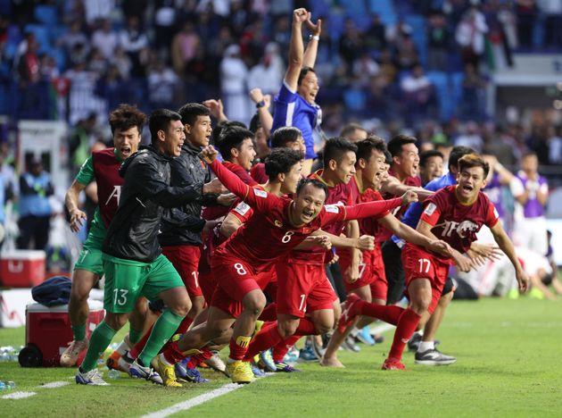 박항서의 베트남, 승부차기 끝에 아시안컵 8강