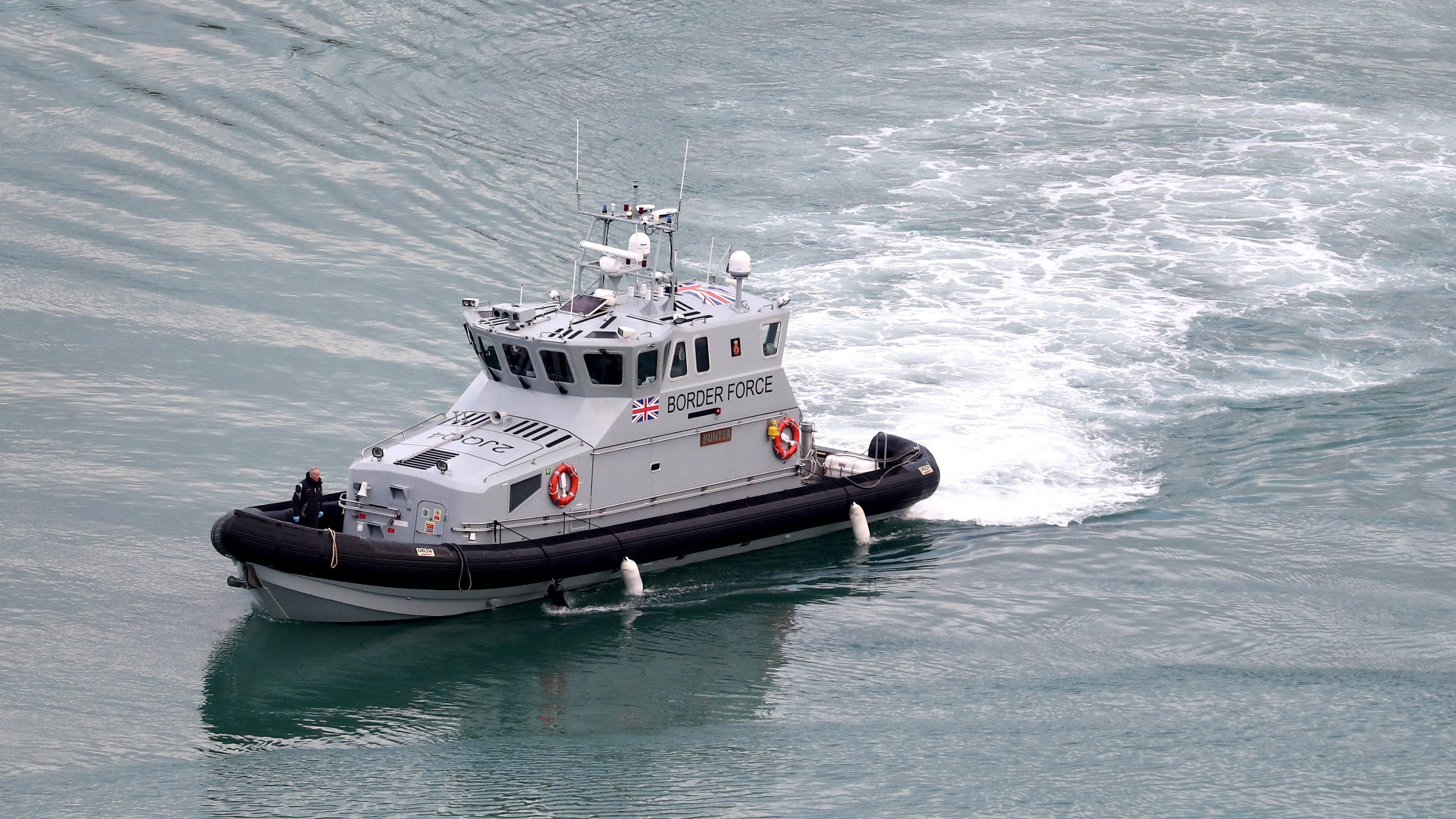 Three migrant boats land in Kent after crossing Channel