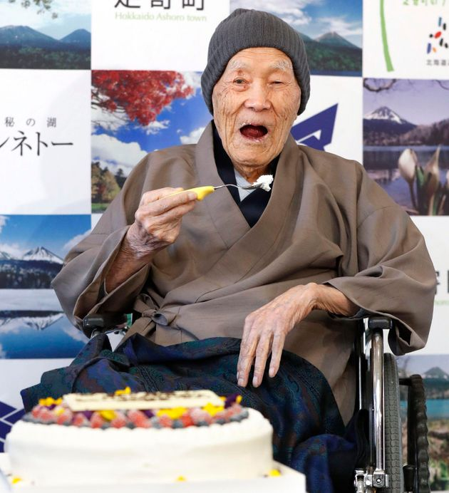 Masazo Nonaka, the world's oldest man has died at the age of