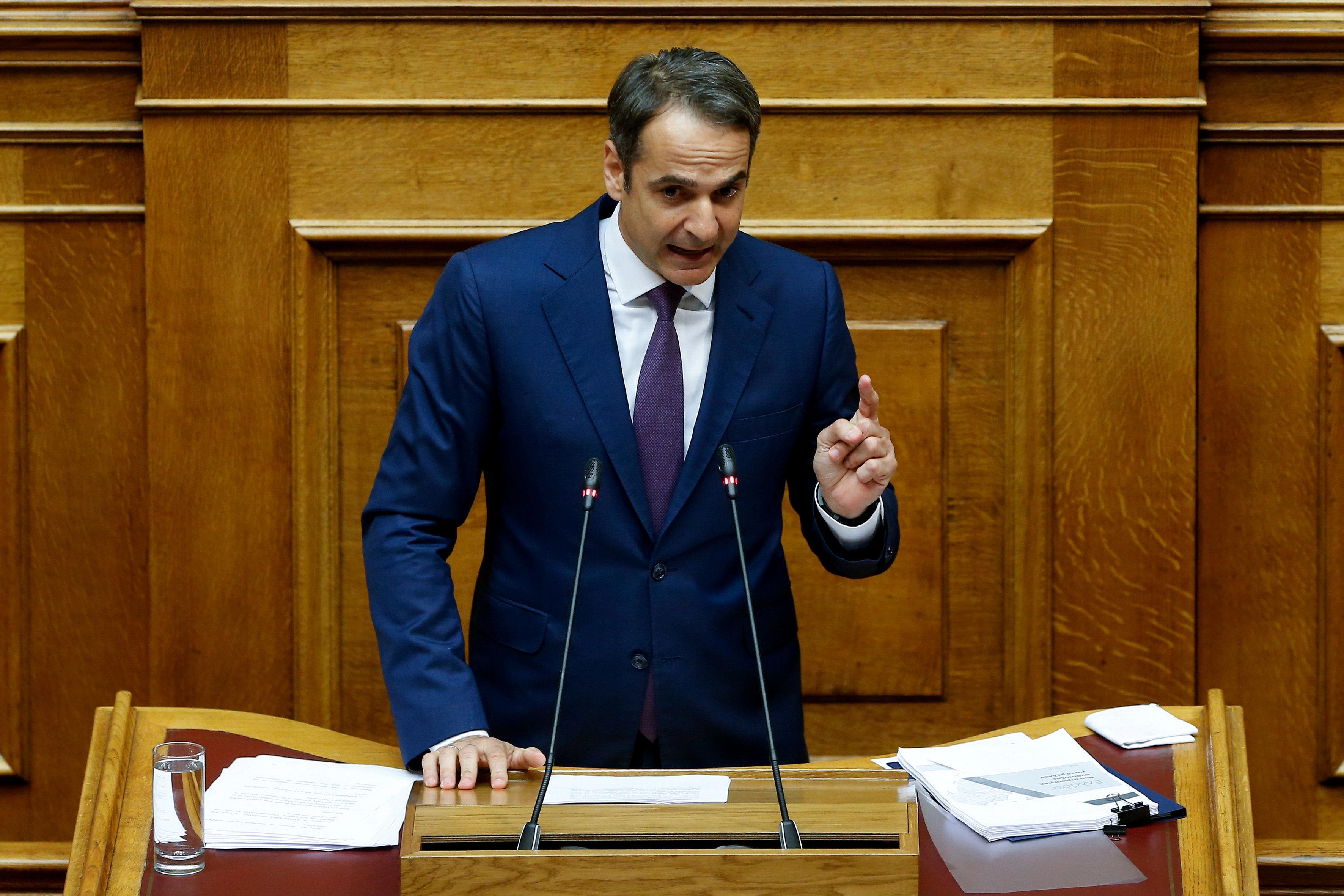 Mητσοτάκης: «Ο ελληνικός λαός μίλησε» -Μαξίμου: «Η ΝΔ ταυτίζεται με