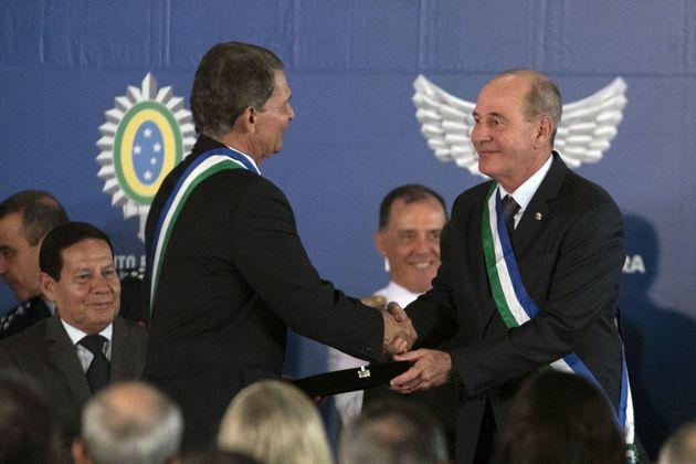 O ministro da Defesa, general Fernando Azevedo e Silva, afirmou que eventuais mudanças no regime...